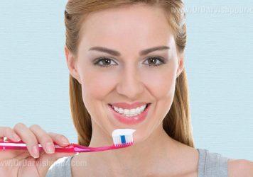 بهداشت دندان ارتودنسی شده