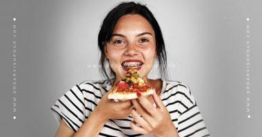 تغذیه در زمان ارتودنسی دندان